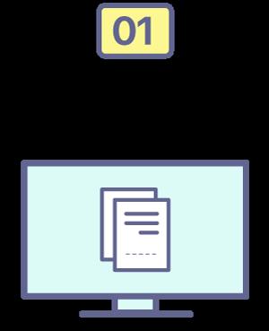 Generás los recibos en tu software